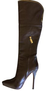 L.A.M.B. Chocolate Brown Boots