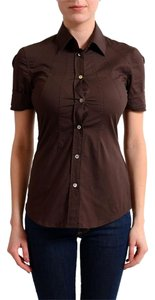 Versace Collection Top Brown