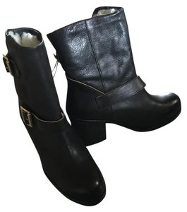 Jeffrey Campbell Leather Bootie BLACK Boots