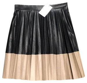 Robert Rodriguez Mini Skirt Black/tan