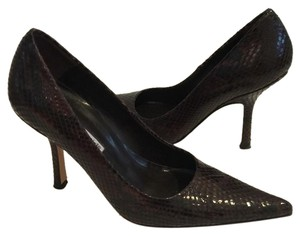 Charles David Brown/Black Pumps