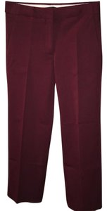 J.Crew Wide Leg Pants Wine