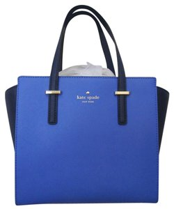 Kate Spade New With Tag Satchel in blue/navy