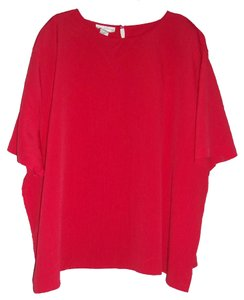 Maggie Barnes Top Red