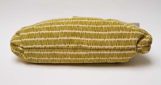 Marni Linen Fabric Chartreuse Clutch