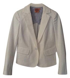 Tory Burch White Blazer