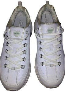 Skechers Leather Premium Lace-up White Athletic