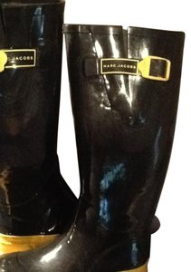 Marc Jacobs Rain Blue/Yellow Boots