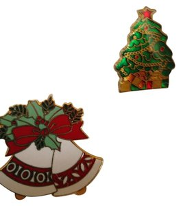 A.G.C. (2) Christmas pins (brooches)