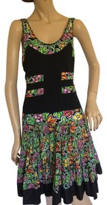 Blumarine short dress Black, Green, Red, Pink, Yellow, White on Tradesy