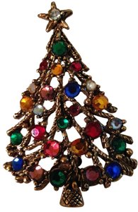 Other Christmas Brooch - tree design