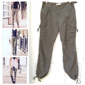Xhilaration Cargo Pants Military Green