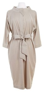 Max Mara short dress Camel/Nude Structured Camel on Tradesy