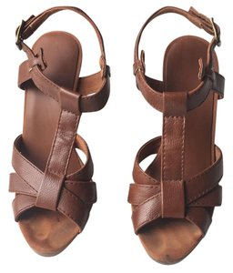 H&M Brown leather Sandals