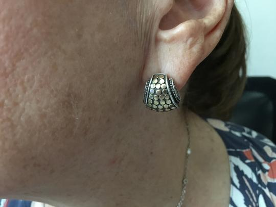 John Hardy John Hardy 18k and SS earrings from Dot collection