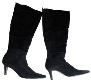 Zocal Suede Black Boots