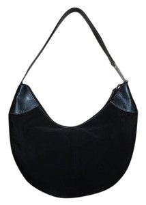 Ralph Lauren Microfiber Leather Hobo Bag