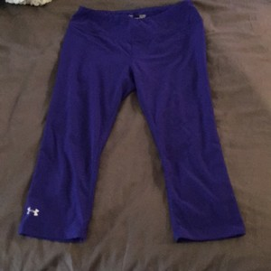 Under Armour Purple Under Armour fitted crop
