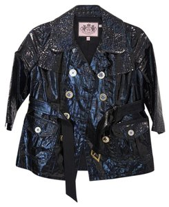 Juicy Couture Faux Leather New Leather Jacket