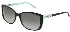 Tiffany & Co. Tiffany & Co 4090-B Sunglasses TF4090B Black Blue 80553C Authentic