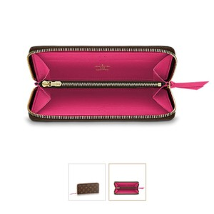 Louis Vuitton Brand New Hot Pink CLEMENCE WALLET