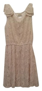 Moon Collection short dress Cream Lace on Tradesy