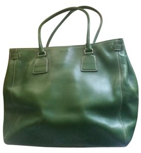 Jil Sander Leather Italy Designer Roomey Clean Shoulder Bag