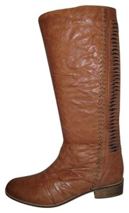 Very Volatile Leather Brown Boots