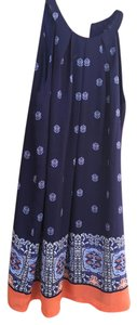 Artisan New York short dress Blue Summer on Tradesy