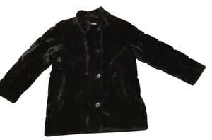 Saks Fifth Avenue Faux Fur 5th Fur Fur Coat