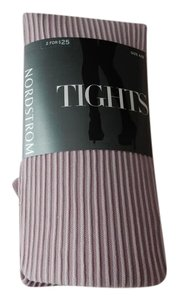 Nordstrom Mauve Shadow Textured Tights Size Small
