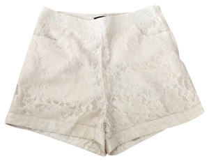 Forever 21 Dress Shorts Cream