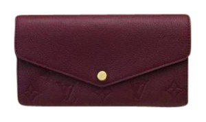 Louis Vuitton Louis Vuitton Brand New Empreinte Sarah Raisin Wallet!