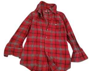 Twisted Heart Top Flannel