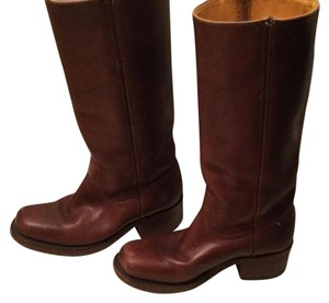 Frye Campus Boots cordovan Boots