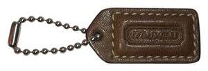 Coach COACH Leather Hang Tag