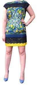 Dolce&Gabbana short dress BLUE / YELLOW on Tradesy
