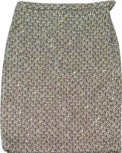 Ann Taylor LOFT Skirt Mixed Browns