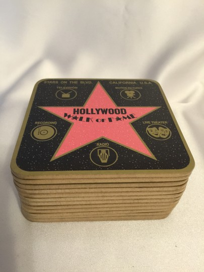 Other Drink Coasters; Hollywood Walk of Fame (13) [ Roxanne Anjou Closet ]