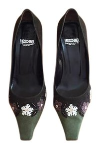 Moschino Green/Olive Pumps