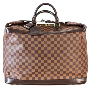 Louis Vuitton Balmain Cruiser Grimaud Damier Ebene Travel Bag