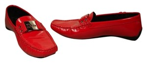 Dior Ran Normal To Large Red Flats