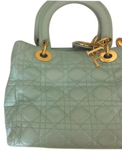 Dior Tote in Mint Green