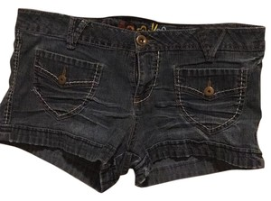 Mudd Cuffed Shorts Blue jean