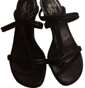 Donald J. Pliner Black Sandals