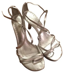 BCBGeneration Silver Sandals