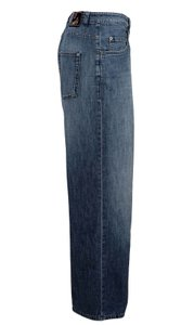 Lanvin Straight Leg Jeans-Distressed