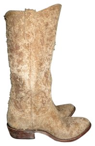 Old Gringo Leather Zipper Heel Tan Boots