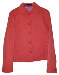 Ralph Lauren Fall Winter Quilted Casual Orange and pink lining. Jacket