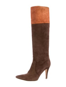 Kate Spade Suede Brown and Rust Boots